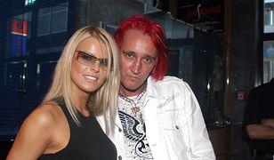 Mandaryna z byłym mężem Michałem Wiśniewskim.