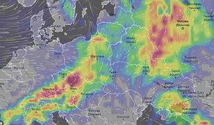 IMGW, RCB oraz Cumulus ostrzegają przed porywistym gradem, burzami oraz gradem