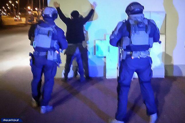 Policja działała na terenie kilku województw (CBŚP)