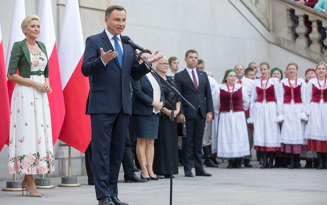 Prezydent Andrzej Duda przemawia podczas V Światowego Zjazdu Polonii i Polaków