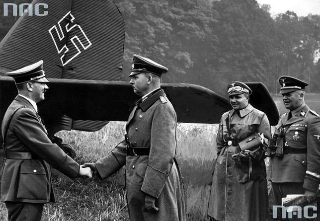 Adolf Hitler i feldmarszałek Wilhelm List, rok 1942
