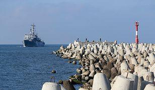 Jednostki wypłynęły m.in. z bazy marynarki wojennej w Bałtyjsku.