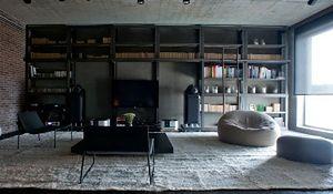 Męskie mieszkanie w stylu industrialnym