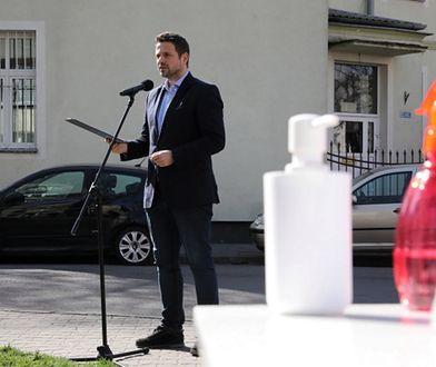 Koronawirus. Warszawa. Rafał Trzaskowski zaapelował, żeby święta spędzić z domownikami.