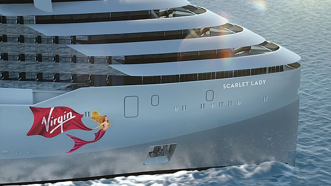 Na pokładzie Scarlet Lady ma się znajdować nawet salon tatuażu