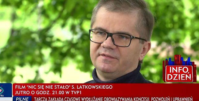 """Sylwester Latkowski wyreżyserował film """"Nic się nie stało"""""""