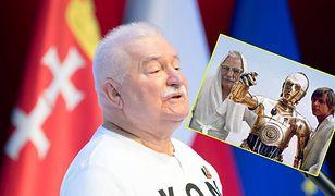 Lech Wałęsa bohaterem memów. Pokazał dystans do siebie
