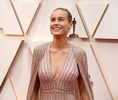 Oscary 2020: wpadka Brie Larson. Długa sukienka nie ukryła defektu