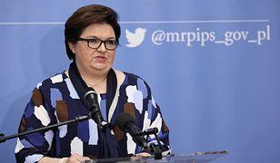 Wiceminister w Ministerstwie Rodziny, Pracy i Polityki Społecznej oddała się do dyspozycji Rafalskiej. Składa samokrytykę