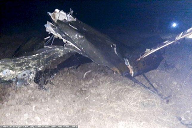 Armenia. Katastrofa rosyjskiego helikoptera. Są ofiary