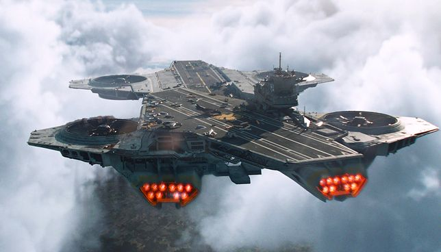 Kiedy zobaczymy na niebie latające bazy samolotów?