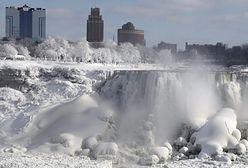 Wodospad Niagara zamarzł