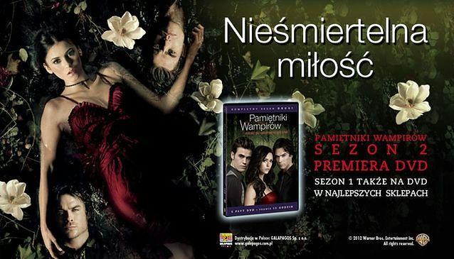 """Pamiętniki wampirów"": Drugi sezon juz na DVD"
