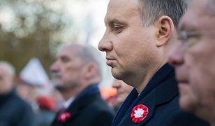 Andrzej Duda i Antoni Macierewicz na uroczystościach 11 listopada