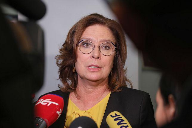 Małgorzata Kidawa-Błońska o wpisie Grzegorza Schetyny: niezręczność
