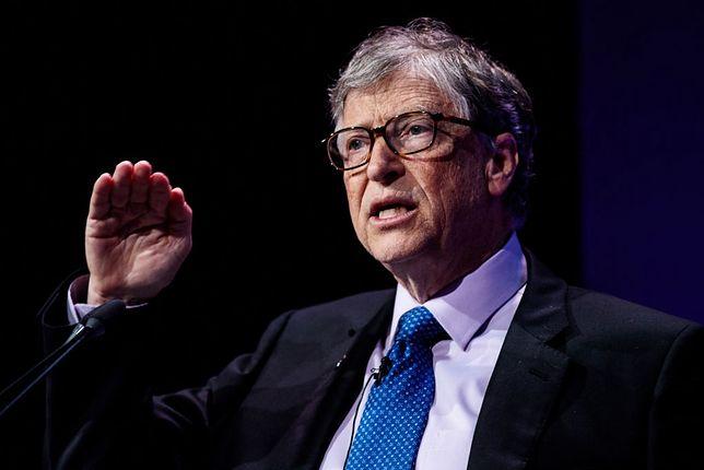 Bill Gates komentuje prace nad szczepionką i testy na koronawirusa