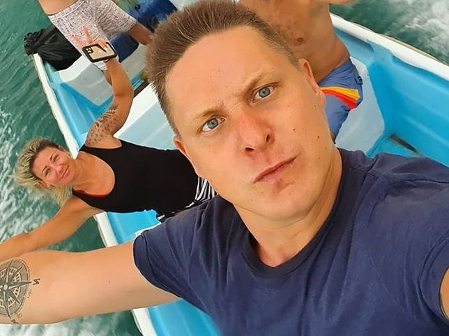 Antek Smykiewicz nie może wrócić do Polski. W nagraniu cytuje słowa Dudy