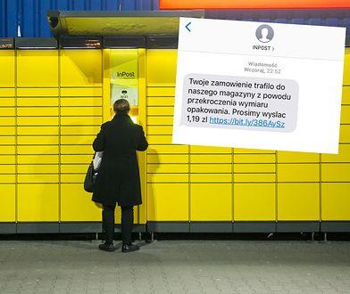 Oszuści podszywają się pod InPost. Uważaj na takie SMS-y
