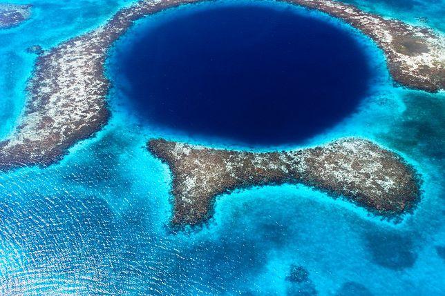 Miejsce 8. Błękitna Dziura, Belize