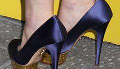 Kelly Osbourne w dużo za dużych butach
