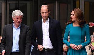 Szef BBC Tony Hall w towarzystwie książęcej pary