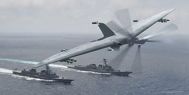 Rewolucyjny dron amerykańskiej armii. Marynarka czekała na niego ponad pół wieku