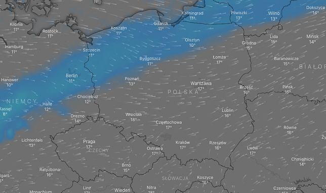 Prognoza pogody na niedzielę (na zdjęciu: ok. godz. 15) nie wszystkich nastroi optymistycznie