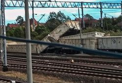 Dolny Śląsk. W Malczycach wykoleił się pociąg.  Z torów wypadła lokomotywa i 7 wagonów