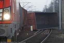 Pociąg wykoleił się koło Opola. Są autobusy zastępcze
