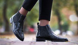 Jako jedne z niewielu butów sztyblety świetnie wyglądają z krótszymi spodniami
