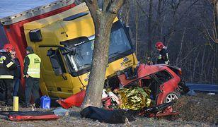 W wypadku zginęły dwie osoby