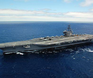 Do wypadku śmigłowca doszło na lotniskowcu USS Ronald Reagan.