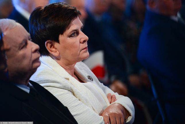 """Beata Szydło mówi o """"bezpardonowym ataku"""""""