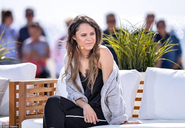 Maria Tymańska szybko zareagowała na wywiad męża