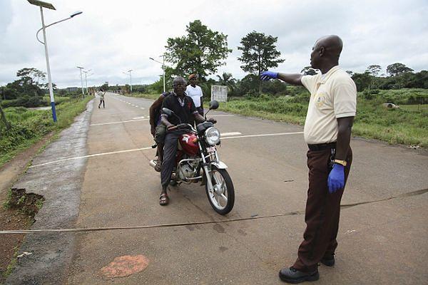 Afryka Zachodnia - epicentrum epidemii odizolowane