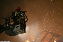 Świdnica. Pożar zabytkowej kamienicy. Spłonął dach