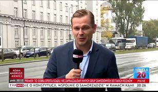 Łukasz Sitek, nowa gwiazda TVP Info.