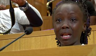 """9-latka z płaczem mówiła o rasizmie w Charlotte. """"To wstyd, że nasi rodzice są zabijani"""""""