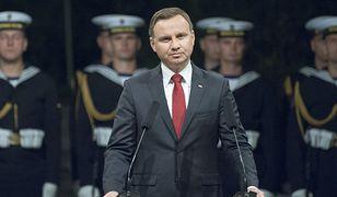 Prezydent Andrzej Duda na Westerplatte (zdj. arch.)