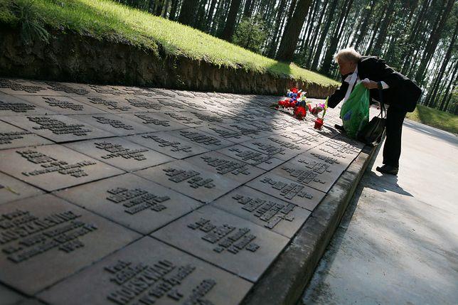 Rosja. Polski Cmentarz Wojenny w Miednoje, gdzie spoczywa 6361 policjantów i żołnierzy, jeńców obozu NKWD w Ostaszkowie, zamordowanych w 1940 r.