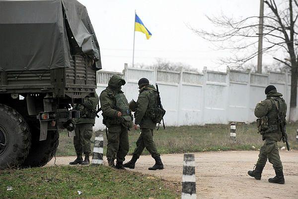 Siły rosyjskie na Krymie