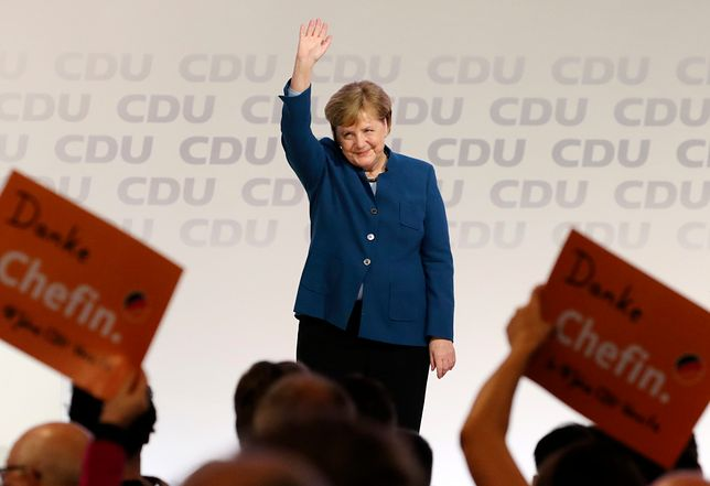 Angela Merkel nie jest już szefem CDU