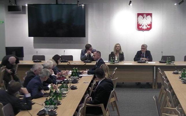 Michałowi Szczerbie nie pozwolono na dokończenie odczytywania uzasadnienia wniosku
