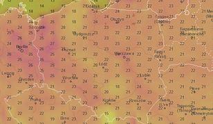 Dopiero w niedzielę w Polsce zrobi się ciepło