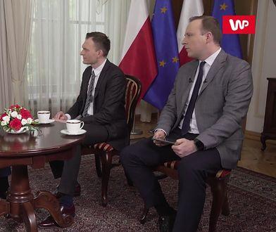 Premier Mateusz Morawiecki udzielił wywiadu Tomaszowi Machale oraz Marcinowi Makowskiemu z okazji 15. rocznicy wejścia Polski do Unii Europejskiej