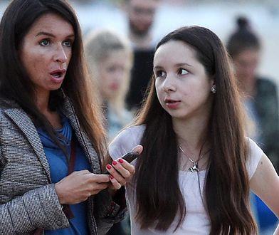 Marta Kaczyńska z córką