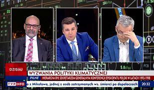 W TVP Info dyskutowano o zmianach klimatu.