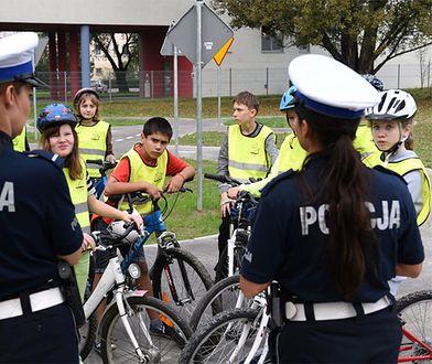 Miasteczko komunikacyjne w Krakowie, w którym najmłodsi uczą się bezpiecznej jazdy