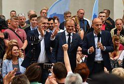 Wizyta Donalda Tuska w Szczecinie. Doszło do przepychanek i kłótni