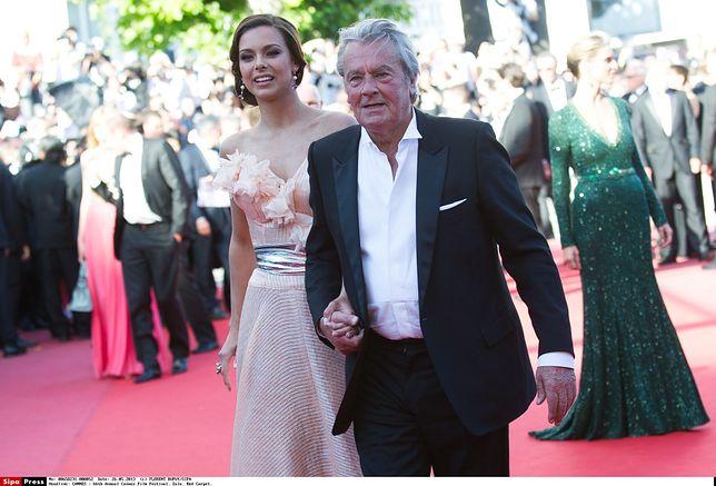 Alain Delon co roku zjawia się na festiwalu w Cannes